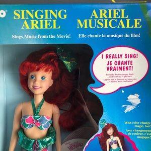 Tyco vintage Disney Singing Ariel Little Mermaid